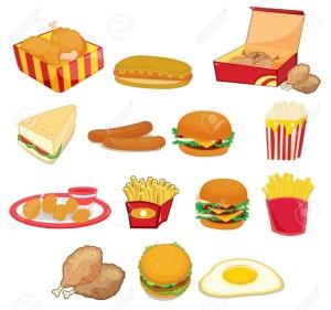 fat junk food