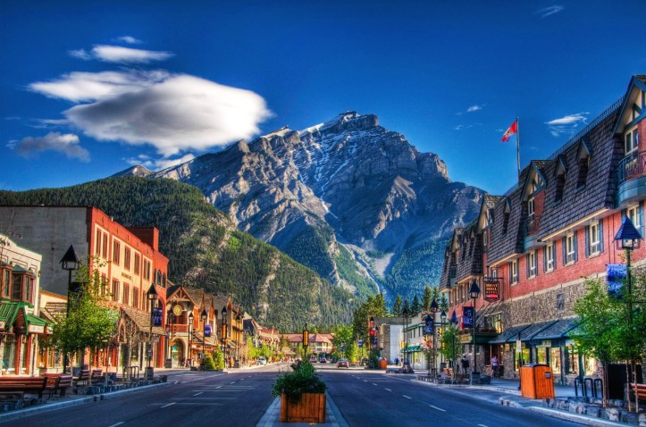 Downtown-Banff